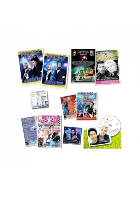 Cadeaupakket: 5 x DVD + 1 x CD + 2 x Single